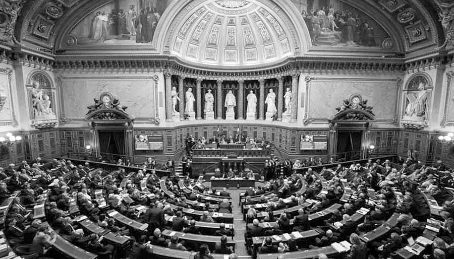 Sénat, hémicycle. Crédit photo Sénat